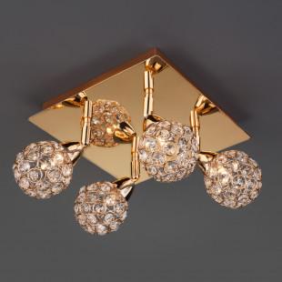 Потолочный светильник с поворотными плафонами 20042/4 золото