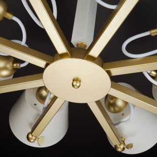 Светильник в стиле лофт с поворотными рожками 70083/8 золото