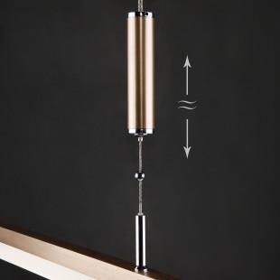 Светодиодный подвесной светильник с лифтом 90030/1 золото