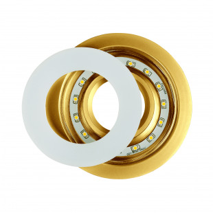 Точечный светильник светодиодный 1052 MR16 GD золото