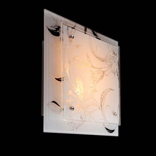 Настенно-потолочный светильник 2729/2 хром