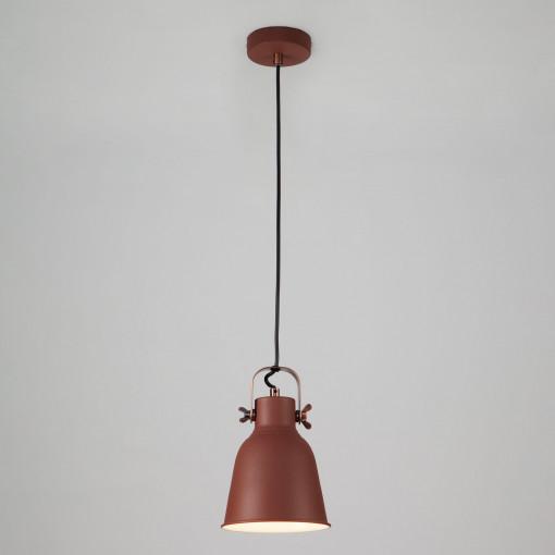Подвесной светильник 50083/1 бордовый