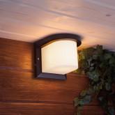 SHELTER ROUND уличный настенный светильник 1544 TECHNO