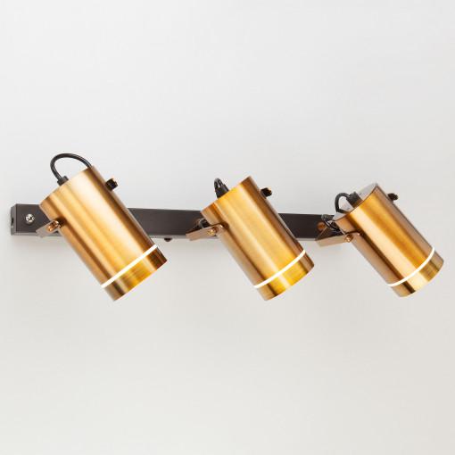 Светодиодный настенный светильник с поворотными плафонами 20063/3 античная бронза