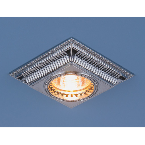 Точечный светильник для подвесных, натяжных и реечных потолков 4102 MR16 CH хром
