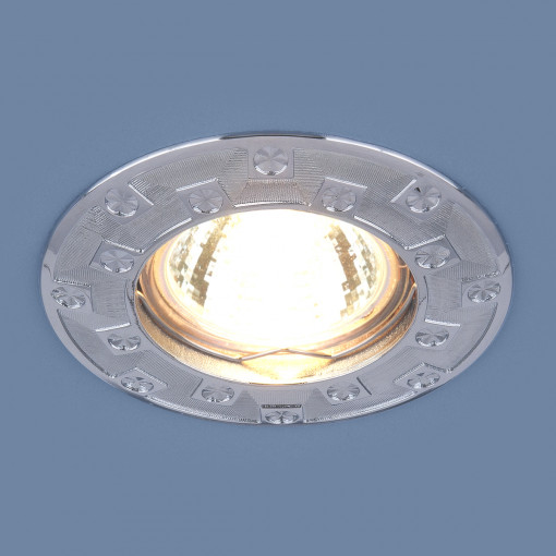 Точечный светильник для подвесных, натяжных и реечных потолков 7202 MR16 CH хром