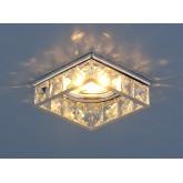 Встраиваемый потолочный светильник 7274 MR16 CH/CL хром/прозрачный