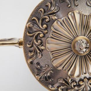 Классическая потолочная люстра 22010/5 античная бронза