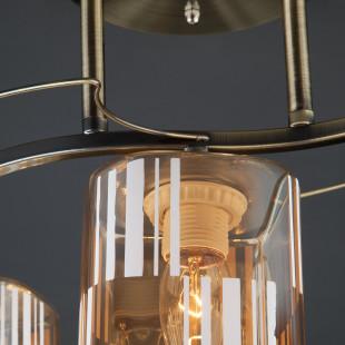 Потолочный светильник 30124/3 античная бронза