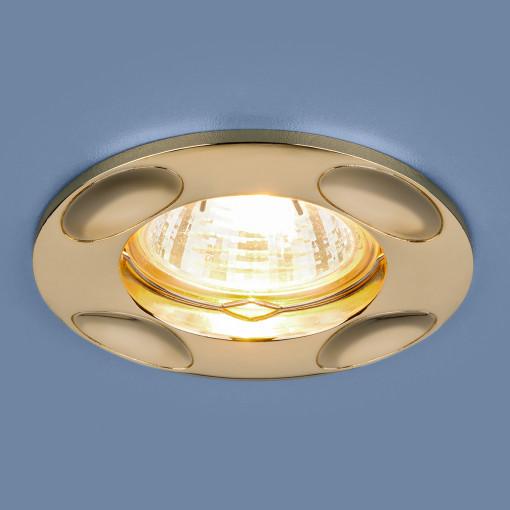 Точечный светильник 7008 MR16 GD золото