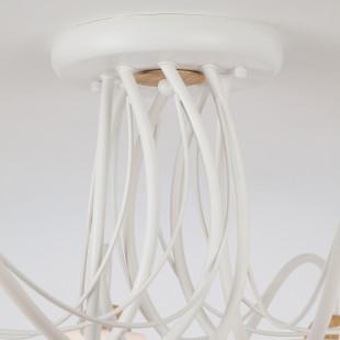 Потолочная люстра со стеклянными плафонами 70062/8 белый
