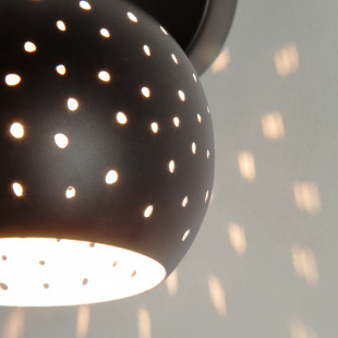 Настенный светильник с поворотными плафонами 20059/1 черный