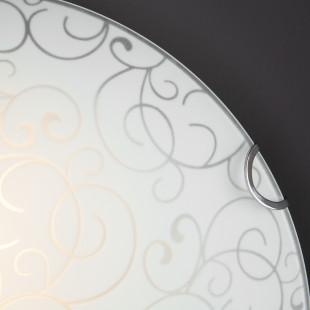 Настенно-потолочный светильник 2734/2 хром
