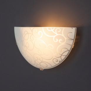 Настенный светильник 2734/1 хром