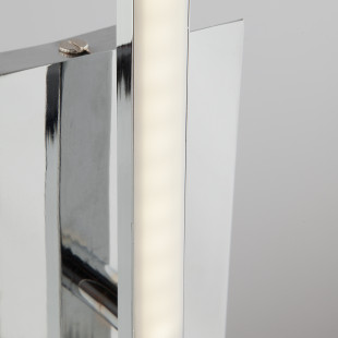 Светодиодный настенный светильник 90020/1 хром