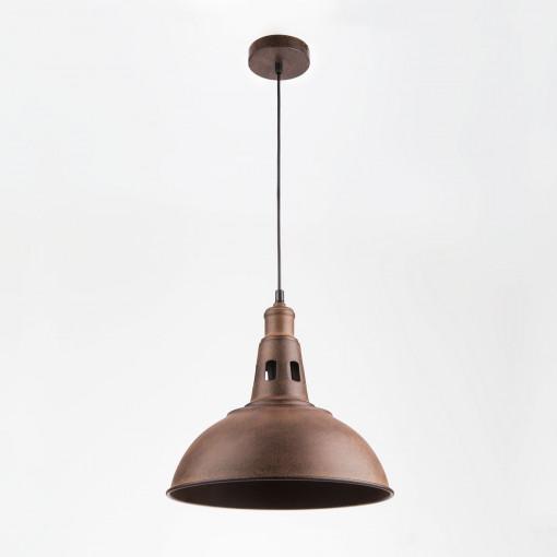 Подвесной светильник 50052/1 патинированный черный