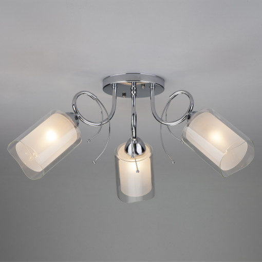 Потолочный светильник 30122/3 хром