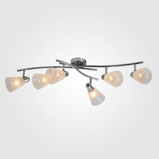 Потолочный светильник с поворотными плафонами 20053/6 хром