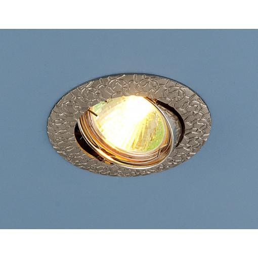 Точечный светильник поворотный 625 MR16 SN сатин никель