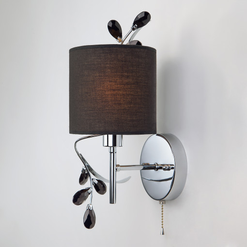 Бра в классическом стиле 70071/1 / настенный светильник хром