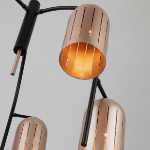 Подвесной светильник в стиле лофт 70054/6 перламутровое золото