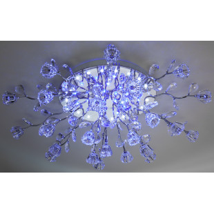 Потолочная люстра с подсветкой и пультом 80115/23