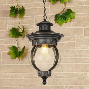 Barrel H черное золото уличный подвесной светильник GL 1025H