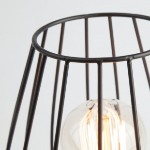 Настольная лампа в стиле лофт 01013/1 черный