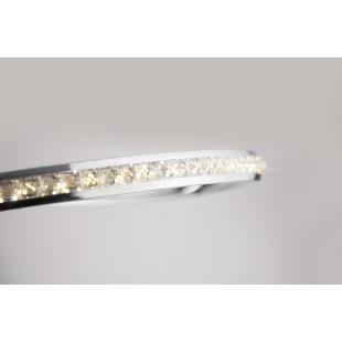 Светодиодный потолочный светильник с хрусталем 90045/1 хром