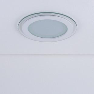 Встраиваемый потолочный светодиодный светильник DLKR160 12W 4200K белый