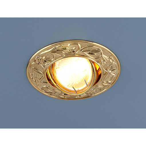 Точечный светильник 711 MR16 GD золото