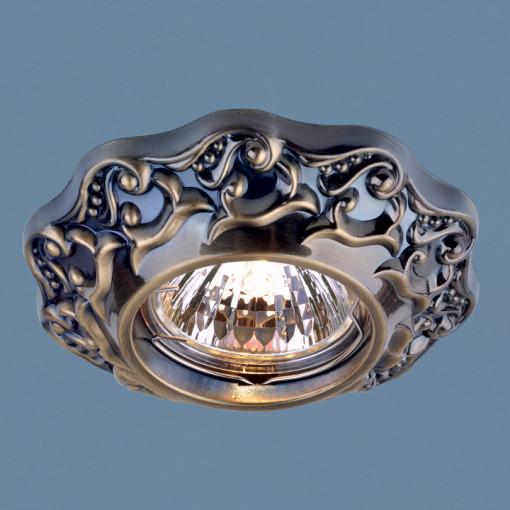 Точечный светильник 7218 MR16 GAB бронза