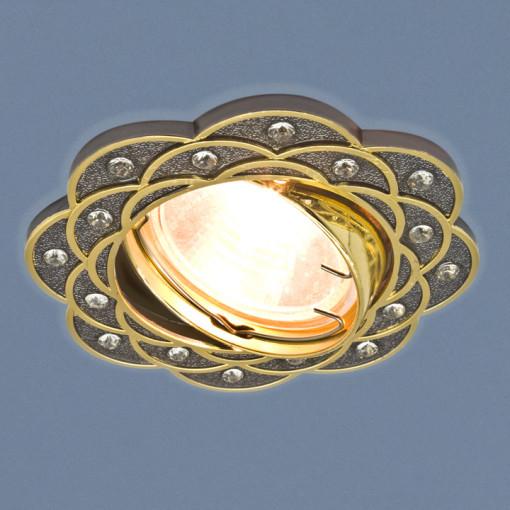 Точечный светильник 8006 MR16 GU/GD черный/золото