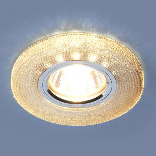 Встраиваемый потолочный светильник со светодиодной подсветкой 2130 MR16 GС тонированный