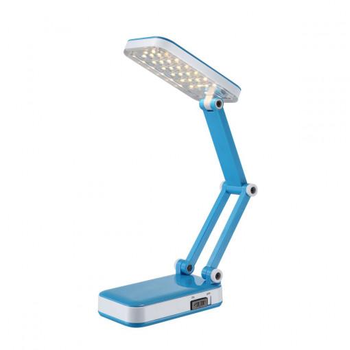 Настольная лампа, арт. 58354, LED, 1x2,5W, голубой