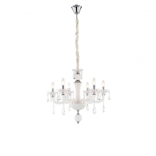 Светильник подвесной, арт. 64107-6, E14, 6x40W, хром