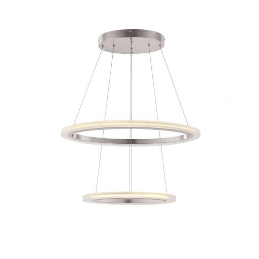 Светильник подвесной, арт. 65103-40, LED, 1x40W, матовый никель