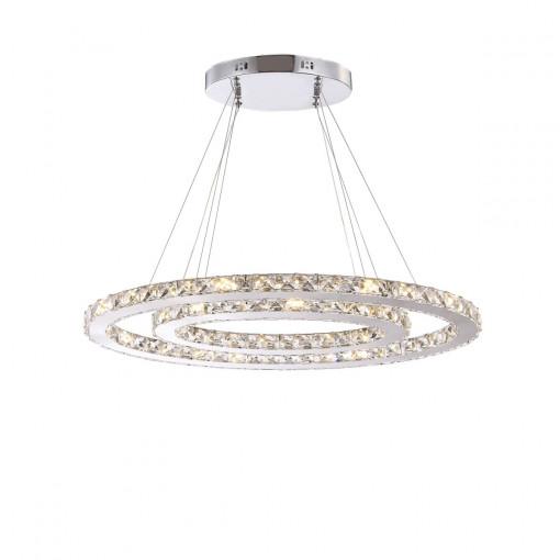 Светильник подвесной, арт. 67007, LED, 1x48W, хром
