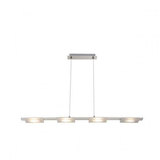 Светильник подвесной, арт. 67083-20, LED, 4x5W, матовый никель