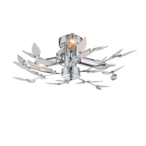 Светильник потолочный, арт. 63100-3, E14, 3x40W, хром