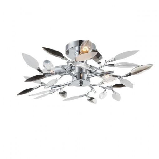 Светильник потолочный, арт. 63166-3, E14, 3x40W, хром