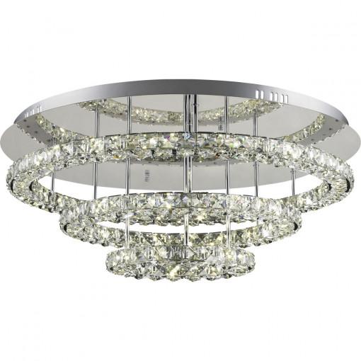 Светильник потолочный, арт. 67037-72, LED, 1x72W, хром