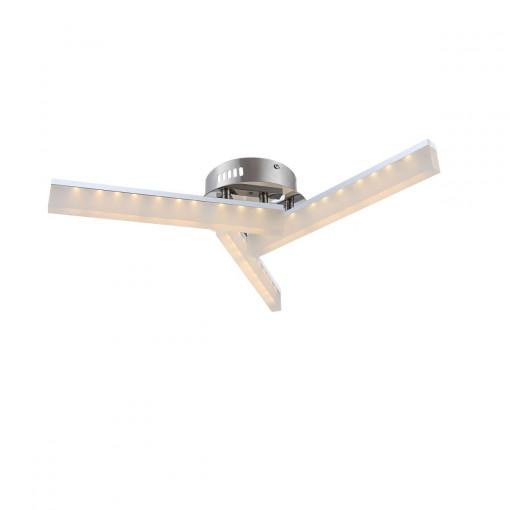 Светильник потолочный, арт. 67057-3D, LED, 3x5W, хром