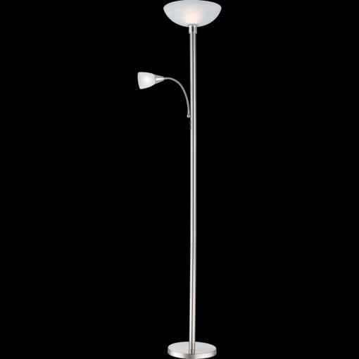 Торшер, арт. 58931LED, E27 LED, 1x4W, матовый никель