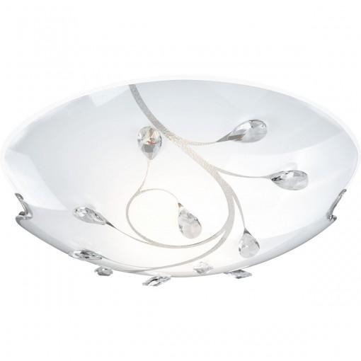 Светильник настенно-потолочный, арт. 40404-3, E27, 3x40W, матовый никель