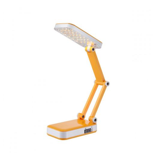 Настольная лампа, арт. 58355, LED, 1x2,5W, желтый