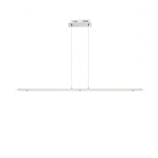 Светильник подвесной, арт. 67804-24H, LED, 1x24W, матовый никель