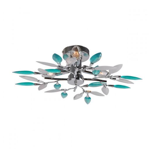 Светильник потолочный, арт. 63181-3, E14, 3x40W, хром
