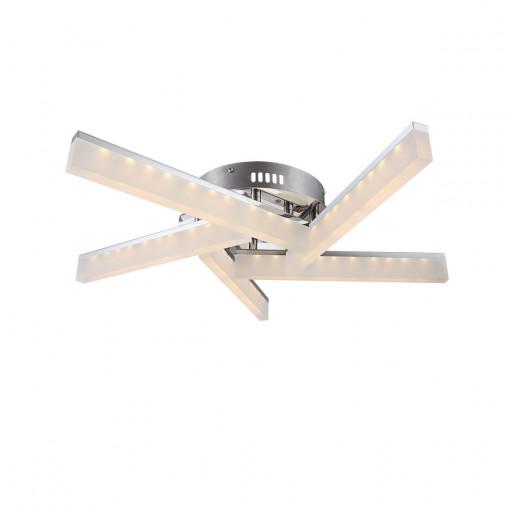 Светильник потолочный, арт. 67057-5D, LED, 5x5W, хром