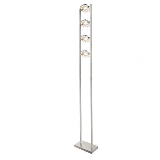 Торшер, арт. 59053, LED, 4x5W, матовый никель